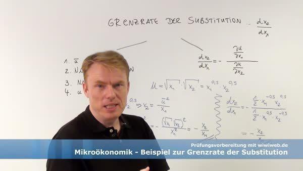 Zahlenbeispiel zur Grenzrate der Substitution