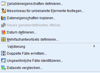 Datenoperationen